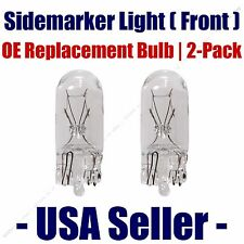 Sidemarker (Front) Light Bulb 2pk - Fits Listed Volvo Vehicles - 2825