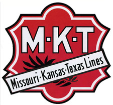 MKT Katy Missouri Kansas Texas Railroad Logo Poster  11 x 12
