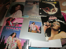 DONNA SUMMER 7 ALBUMS TOTAL OF 10 LPS LOT GREATEST HITS ON THE RADIO LIVE ETC..