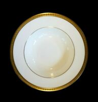 Beautiful Royal Doulton Royal Gold Rimmed Soup Bowl