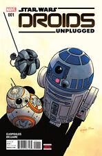 Star Wars: Droids Unplugged #1 MARVEL 2017