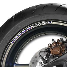 8 x BMW Motorrad Rueda Llanta Calcomanías Pegatinas Racing Rayas v2-Rr Xr