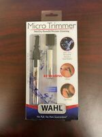 WAHL Nose Ear Hair BATTERY Wet/Dry Compact Precision Micro Detailer Trimmer