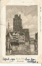 PC39829 Groote Kerk. Dordrecht. W. de Haan. No 36. 1903