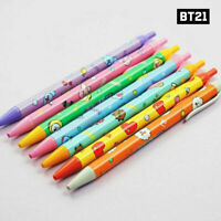 BTS BT21 Official Authentic Goods Slim Pen 7SET By Kumhong Fancy + Tracking