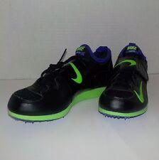 Nike Zoom POLE VAULT II (2) Field Event BLACK 317404 035 MEN 12 +Bonus Spikes