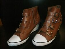 steampunk boots,Bucco Angel line,US size 9,straps and buckles,wedge heel