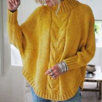 Women's Long Sleeve T-shirt Knitted sweater Sweater Casual Fashion Loose Tops
