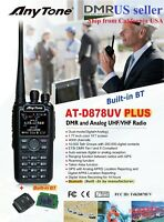 AnyTone AT-D878 PLUS with Built-in Bluetooth 3100 mAh battery and more US seller
