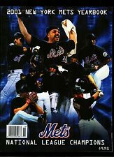 2001 NY METS YEARBOOK NL CHAMPIONS VF/NM