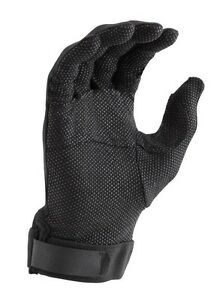 Director's Showcase Black Deluxe Sure Grip Marching Band Parade Gloves