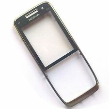 100% Originale Nokia E52 FASCIA Anteriore Coperchio Alloggiamento + Screen Lens pannello ARGENTO