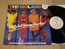 THE NOLANS - GIRLS JUST WANNA HAVE FUN! - LP