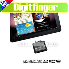 Samsung GALAXY TAB 2 P3100 Tab P6200 P7310 OTG 5 in 1 Kit USB SD micro SD