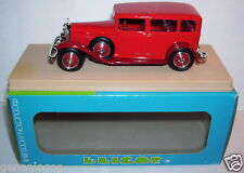 ELIGOR MERCEDES BENZ 1929 LIMOUSINE NURBURG ROUGE REF 1043 1/43 IN BOX