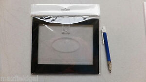 """New Picture Frame, wall mount, 8.25"""" x 7"""", Heavy Plastic with oval window"""