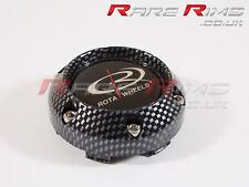 Rota alloys Centre Cap Carbon Fibre Medium Top (caps)
