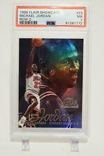 1996 Flair Showcase Michael Jordan Row 2 #23 - PSA 7 NM