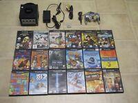 Nintendo Gamecube Konsole mit allen Kabeln + MC und 3 Gratis Spiele