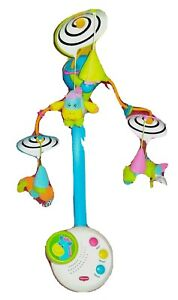 Tiny Love CLASSIC Revolving Musical LightUp Crib Mobile Stand Alone Music Box