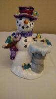Vintage Ceramic Christmas Snowman