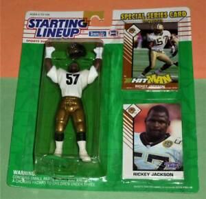 1993 RICKEY JACKSON New Orleans Saints NM- *FREE_s/h* last Starting Lineup