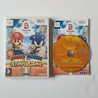 Mario & Sonic at the Olympic Games - Nintendo Wii PAL 2007 with manual