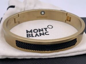 Brand New Montblanc Jewelry Sterling Gold Plated  Bracelet USA Seller,Free Shpng