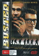 Busted - Action / Crime / Thriller / Violence - Goldie, David Bowie - NEW DVD