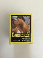 100% Ayurvedic Commando Sex Power Booster Capsules For MEN - 20 capsules