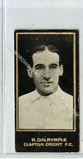 (Ga7288-447) Smith, Footballers, #75 R.Dalrymple, Clapton Orient 1912 VG