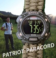 NEW! Timex Expedition Shock Resistant Watch w/ FDE Paracord 550 Watch Band