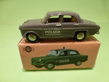 SCOTTOY 1:43  ALFA ROMEO GIULIETTA POLIZIA - IN ORIGINAL BOX -   GOOD CONDITION