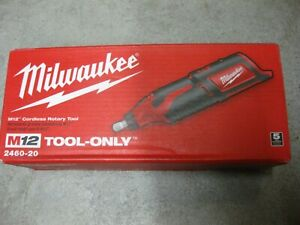 Milwaukee 2460-20 M12 REDLITHIUM Compact Cordless Variable Speed Rotary Tool