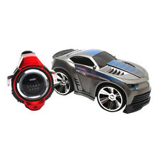 R-101 2.4G Watch 6CH Remote Control Voice Command Car Mini RC On-Road Car Silver