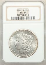 1882 S San Francisco  Morgan Dollar NGC MS 64