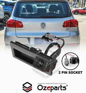 Back Up Rear View Bootlid Reverse Camera For VW Volkswagen Tiguan 5N 2011~2016