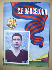 1955 Friendly Match- BARCELONA v O.G.C. NICE,NIZA 18 June (Org*, VG)