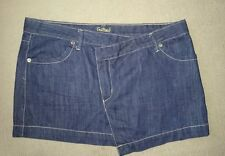 Ladies Size 12 Mini Denim BLOCKOUT skirt