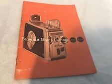 Brownie Movie Camera Owner's Manual F/1.9 F/2.3 8mm Kodak 1957