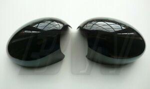 MK1 MINI GLOSS BLACK MIRROR COVERS COOPER S JCW R50/R53 00-06 R52 04-08 RHD ONLY