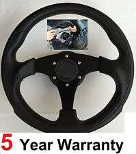 3 SPOKE STEERING WHEEL & SNAP OFF BOSS KIT FIT 36 SPLINE LAND ROVER DEFENDER NEW