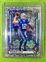 ANDREW LUCK PRIZM CARD JERSEY #12 COLTS /99 SP REFRACTOR 2019 National VIP Lazer