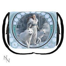 Nemesis Now Wolf Messenger Bag Winter Guardians  Anne Stokes