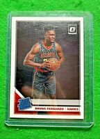 BRUNO FERNANDO RATED ROOKIE CARD ATLANTA HAWKS 2019-20 DONRUSS OPTIC BASKETBALL