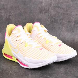 Nike LeBron Witness VI 6 White Melon Tint CZ4052-101 Basketball Shoes Sneakers