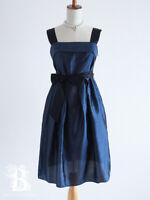 🌹UNTITLED🌹Pinafores Dress JSK Bowknot Navy Otona Kawai New Lolita Japan-M E405
