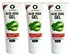 Aloe Vera Gel 100ml 'Omninatural' x 3