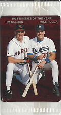 1994 Mother's Cookies 1993 Rookies of The Year Piazza Salmon RED SEALED #1