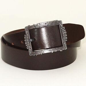 DIESEL Belt 'BIFRAME Cintura' NEW Mens Belt 100% Cow Leather! ITALY!!